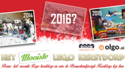 Uitslag LEGO kerstdorp TOP 10 van 2016!