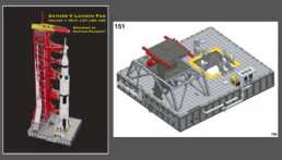 Bouwinstructies NASA Apollo 11 Launch Umbilical Tower
