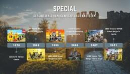 Geschiedenis van Iconische LEGO kastelen