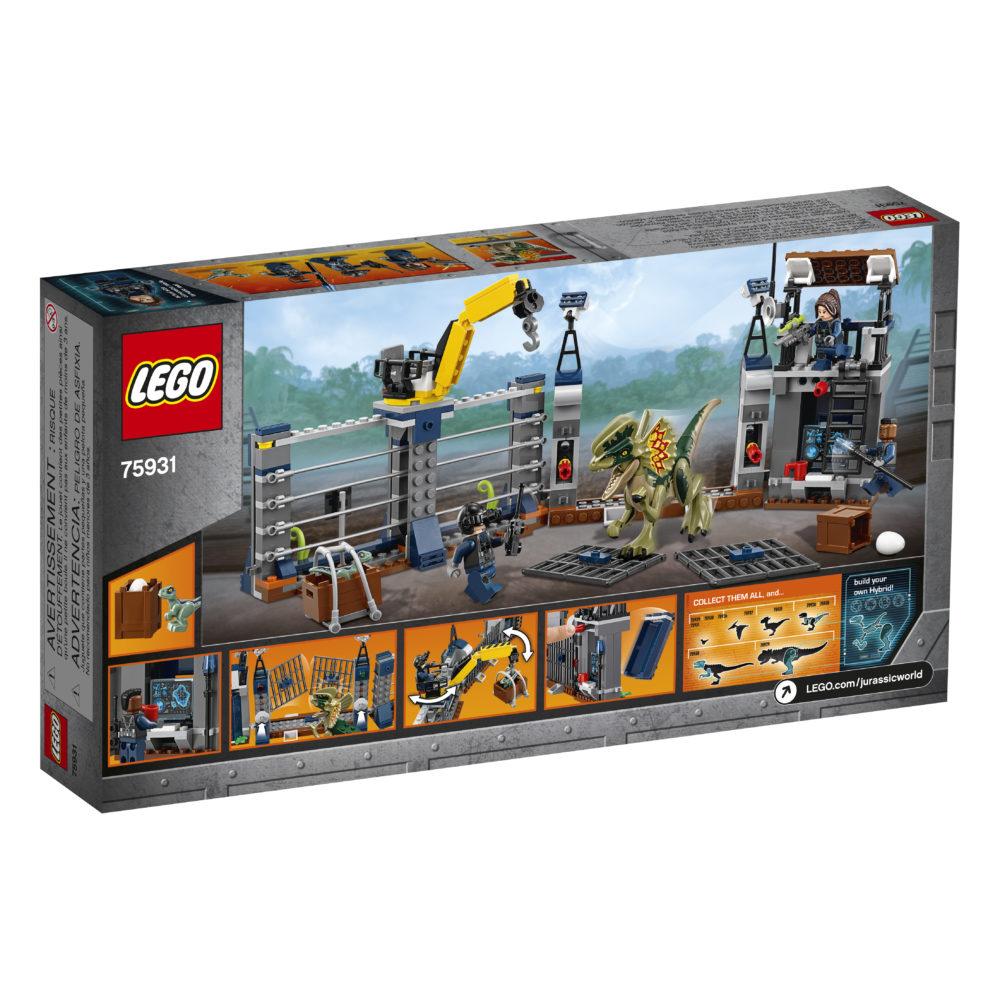LEGO Jurassic World 75931 Diliphosaurus Outpost Attack