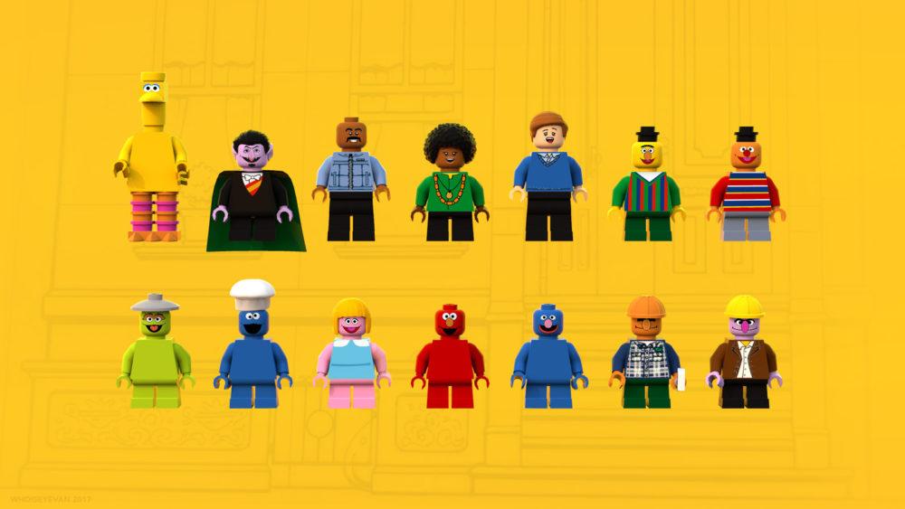 LEGO Ideas 123 Sesame Street