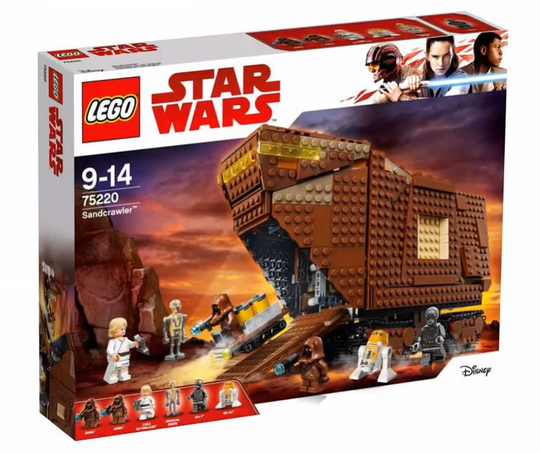 LEGO Star Wars 75220Sandcrawler