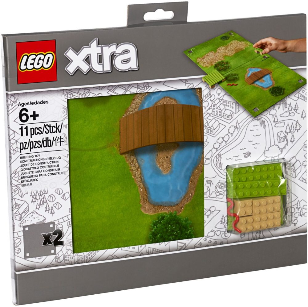 LEGO Xtra 853842 Play Mats Grass