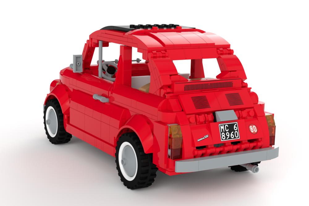 LEGO Ideas Fiat 500 F