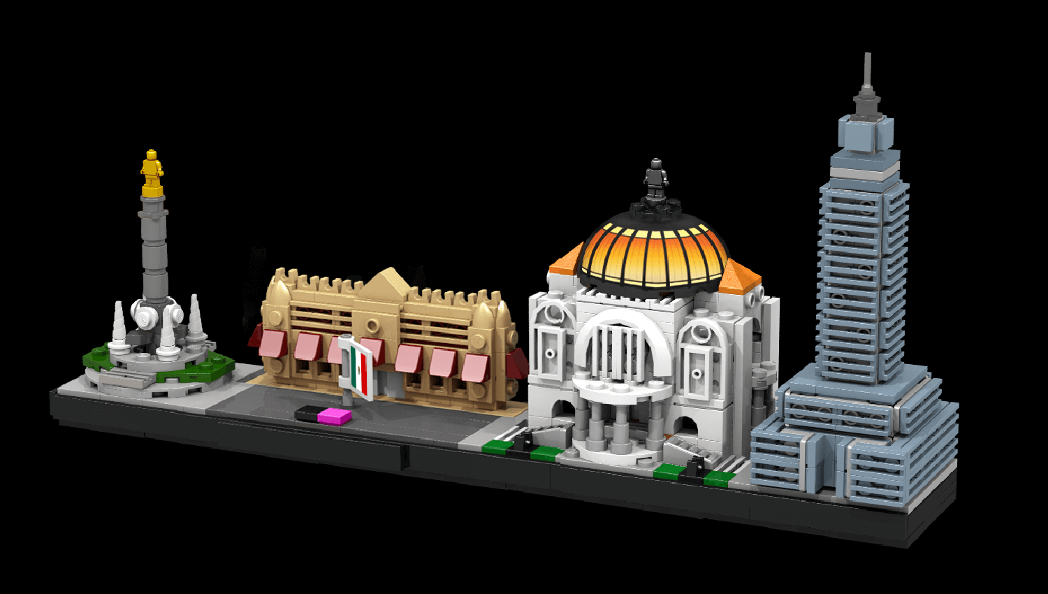 LEGO Ideas Mexico City