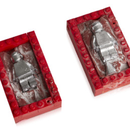 Minifigure Prototype Moulds 1976-1977