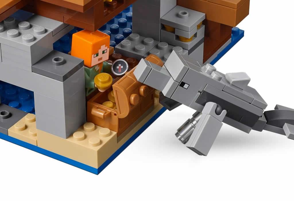 LEGO Minecraft 21152 Pirate Ship Adventure