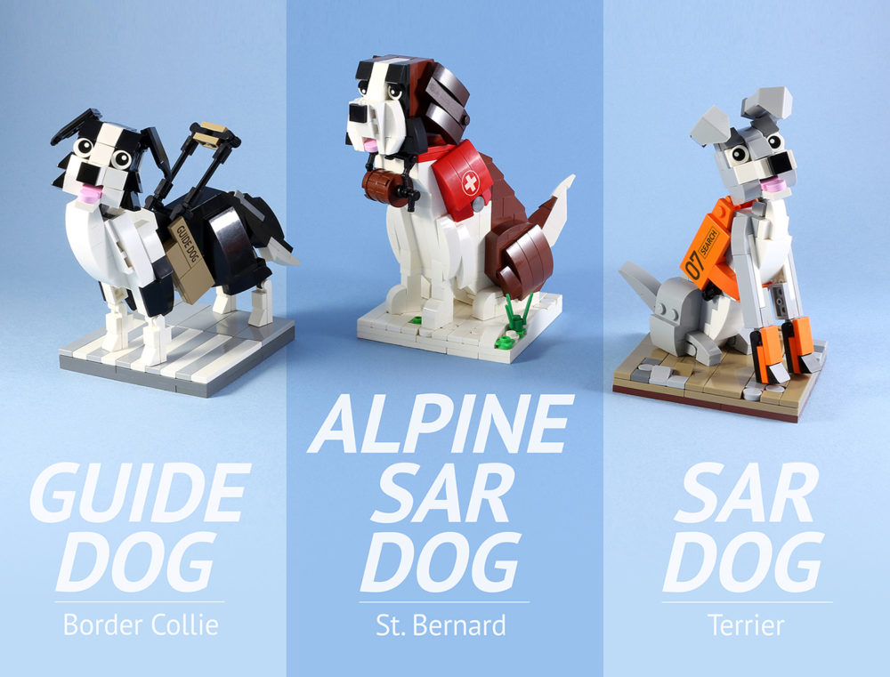 LEGO Ideas Working Dogs