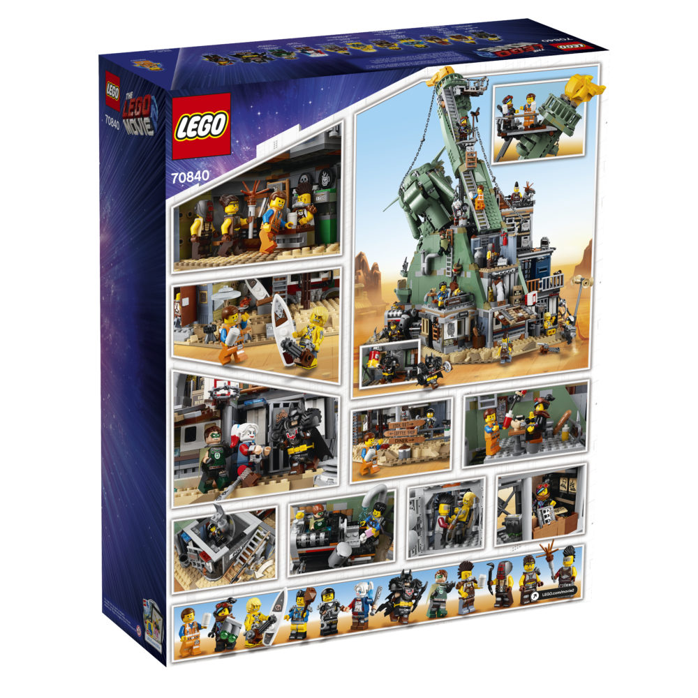LEGO Movie 2 70840 Welcome to Apocalypseburg (2)