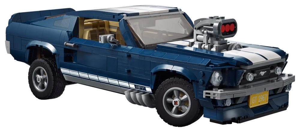 LEGO 10265 with engine