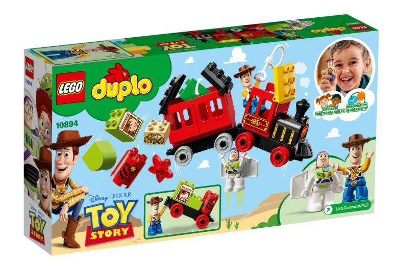 Visuals LEGO DUPLO 10894 Toy Story Train