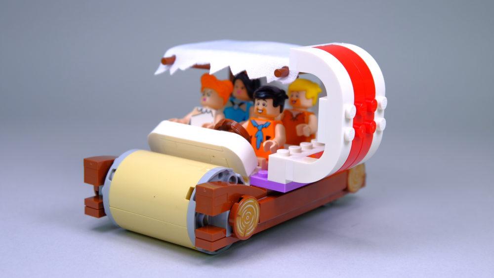LEGO Ideas 21316 The Flintstones - car with ribs