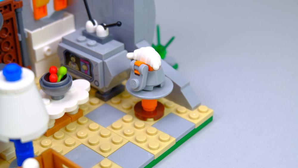 LEGO Ideas 21316 The Flintstones - telephone