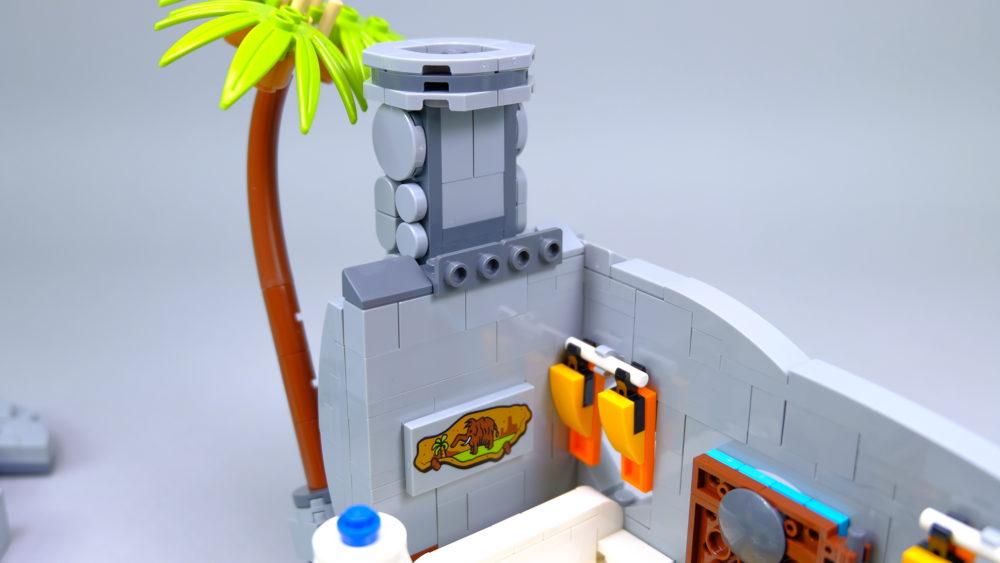 LEGO Ideas 21316 The Flintstones - painting