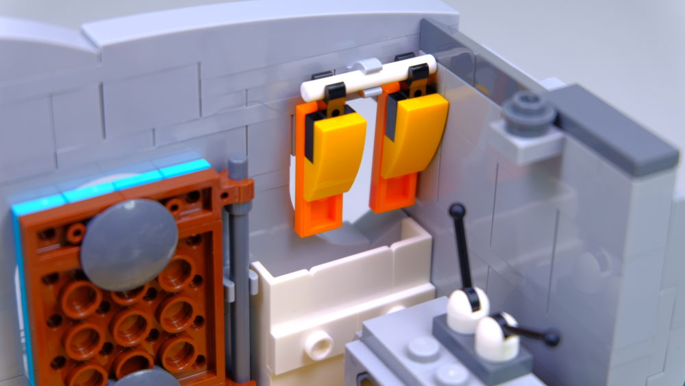 LEGO Ideas 21316 The Flintstones - kitchen