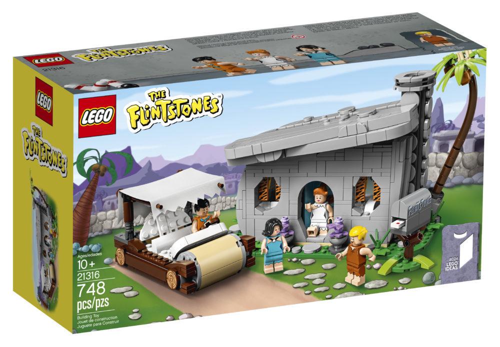 LEGO Ideas The Flintstones - Box front