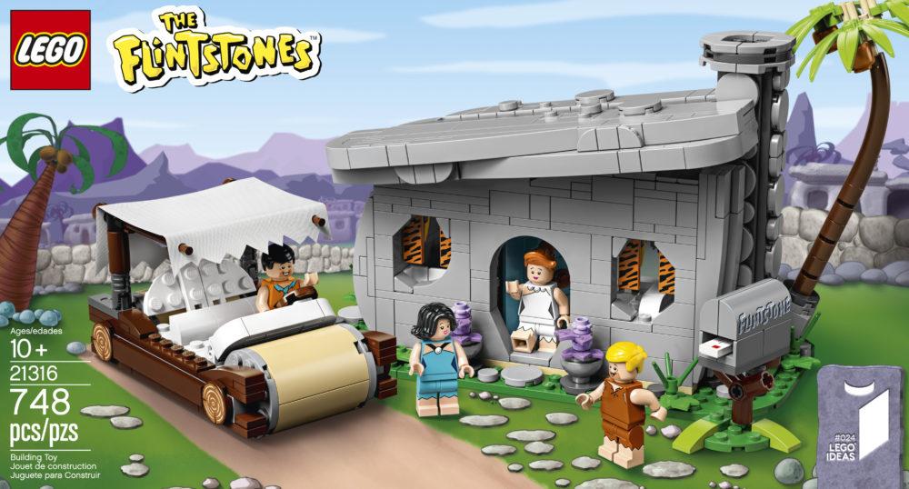 LEGO Ideas The Flintstones - Box
