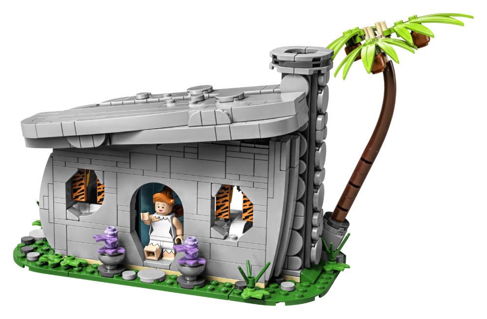 LEGO Ideas The Flintstones - House front