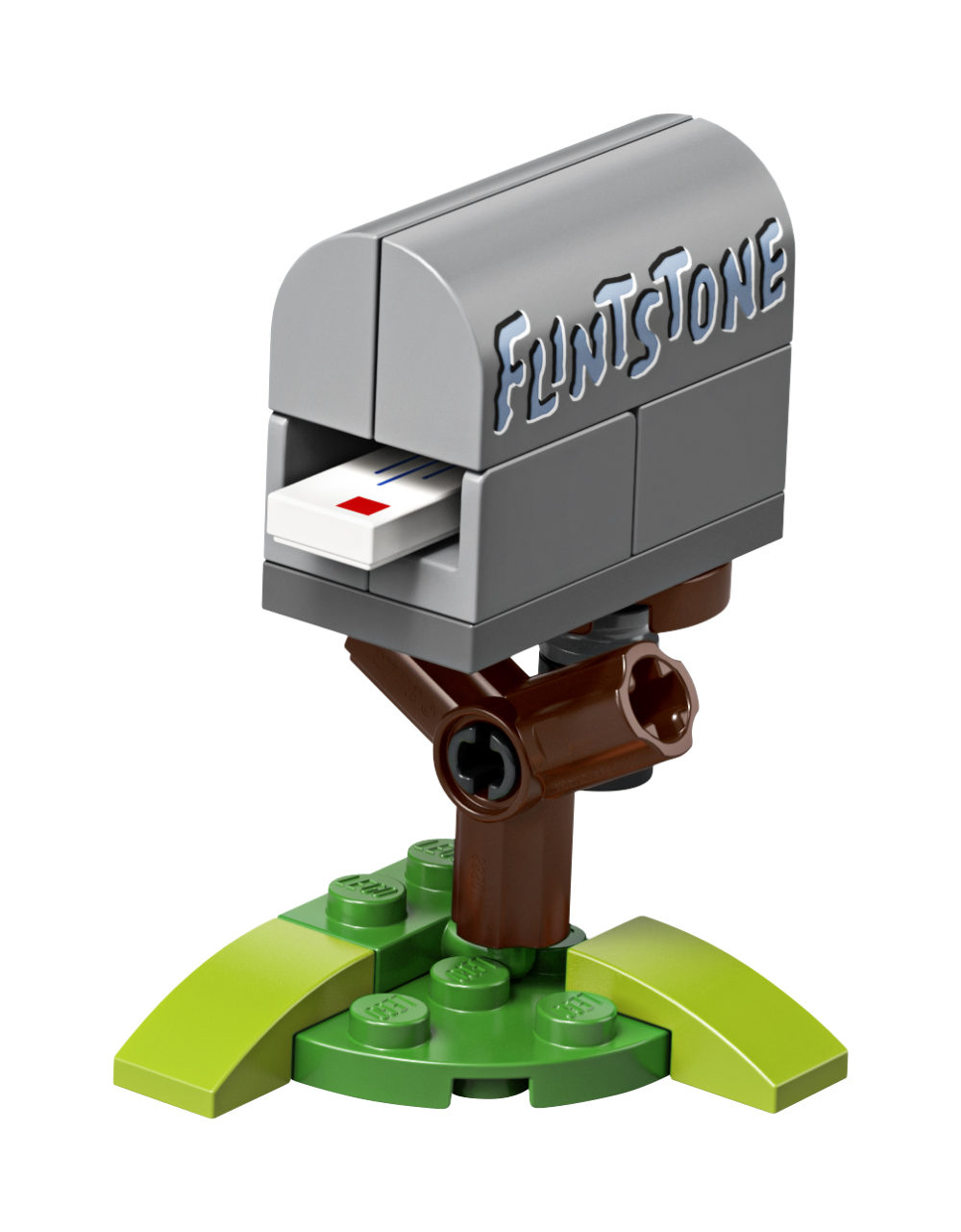 LEGO Ideas The Flintstones - Mailbox