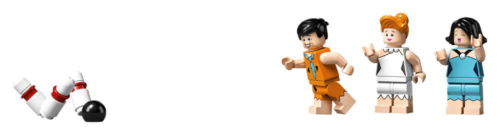 LEGO Ideas The Flintstones - Bowling