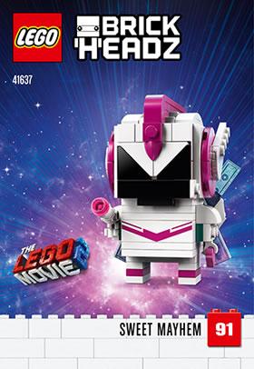 LEGO BrickHeadz41637 Sweet Mayhem