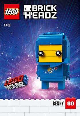 LEGO BrickHeadz41636 Benny