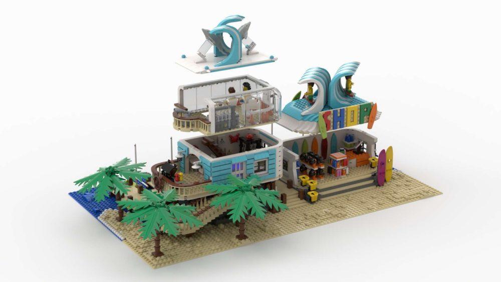 LEGO Ideas Surf and Turf