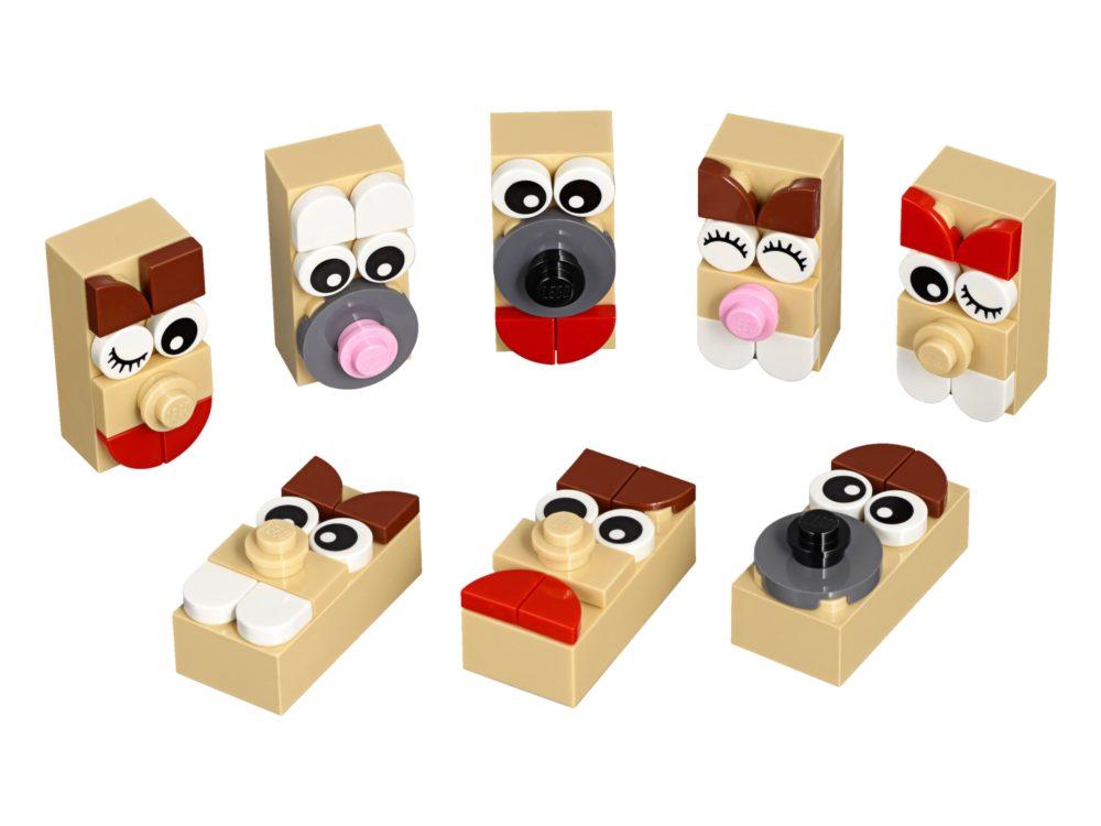 LEGO 853902 Buildable Keychain