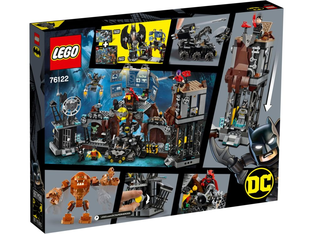 LEGO Batman 76122 Batcave Clayface Invasion