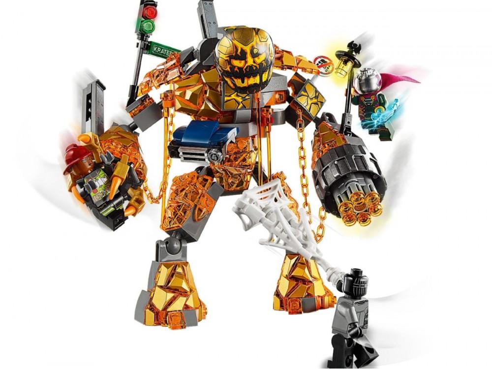 LEGO Marvel 76128 Molten Man Battle