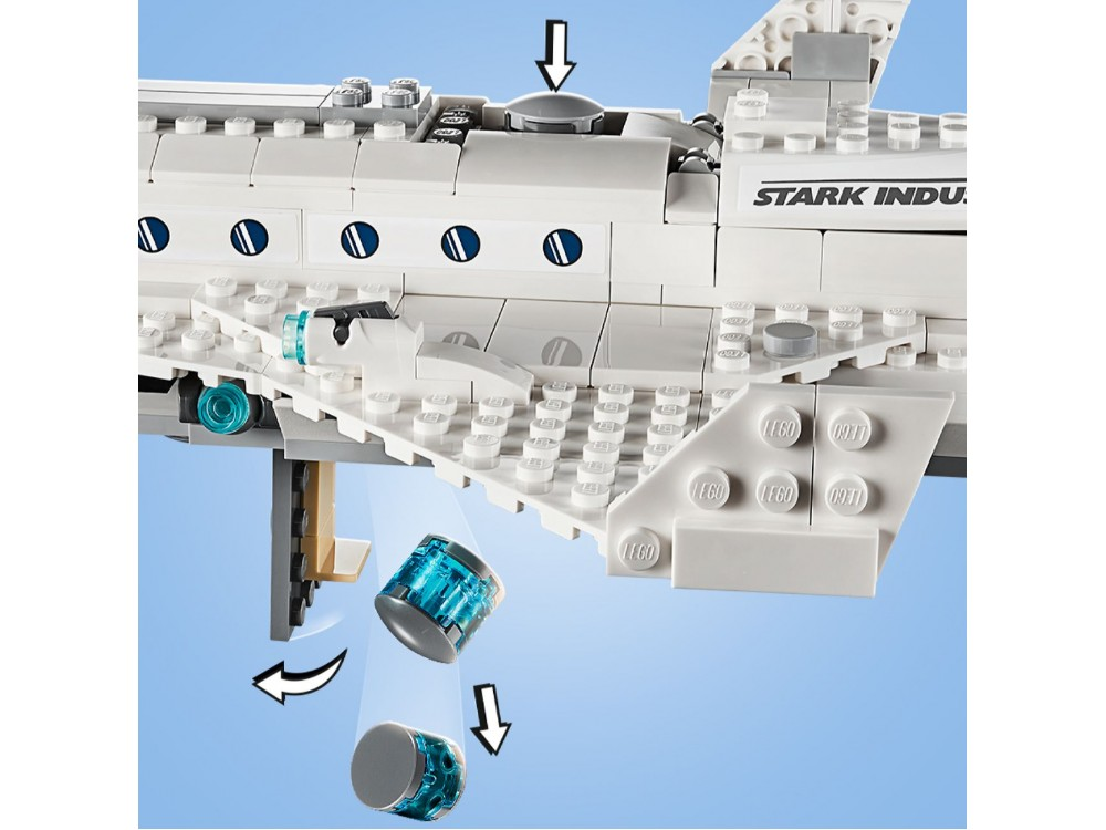 LEGO Marvel 76130 Stark Jet and the Drone Attack