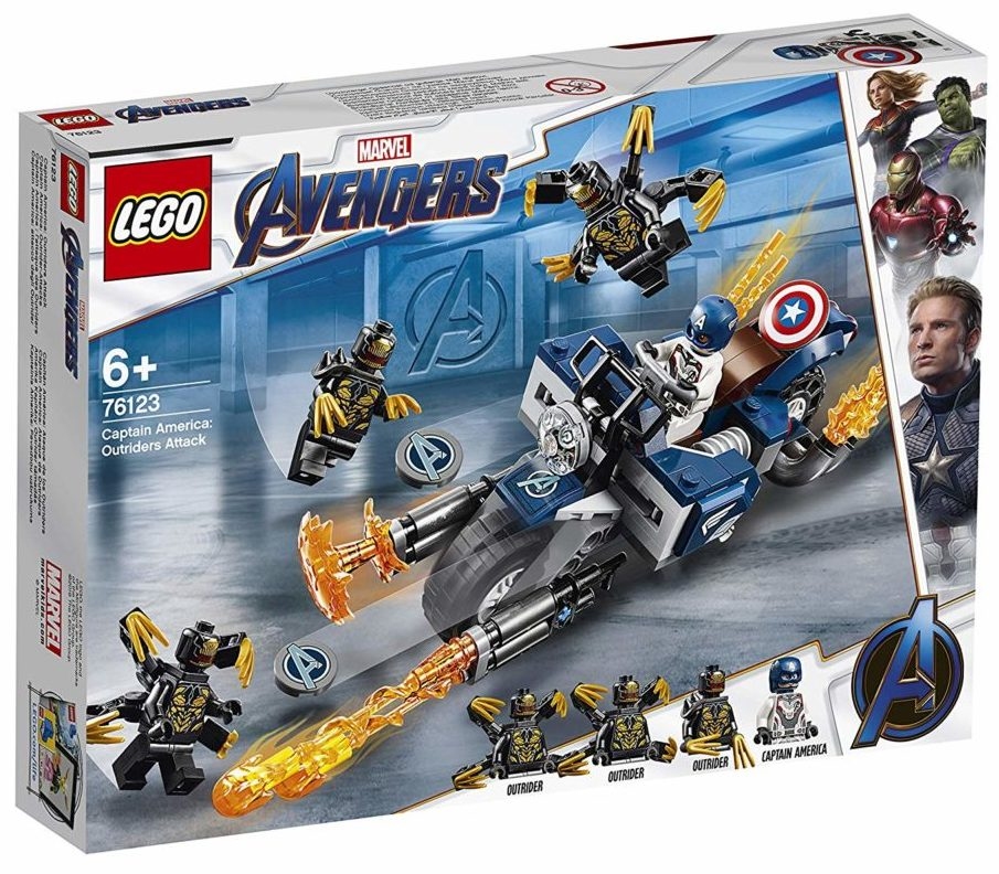 LEGO Marvel Avengers Endgame 76123Captain America Outrider-Attack (1)