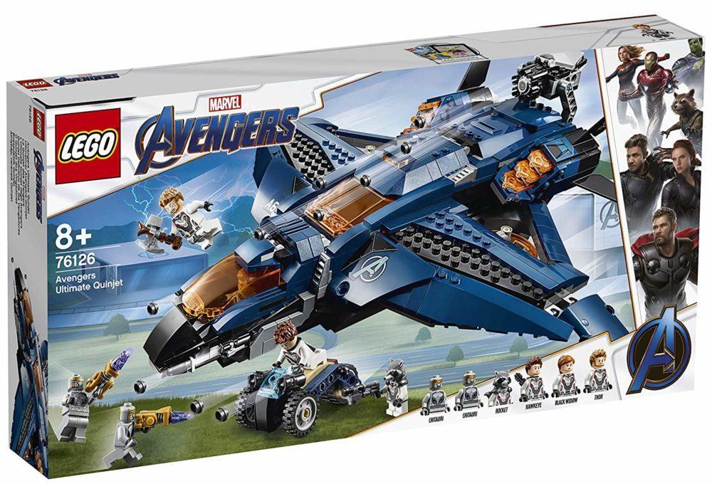 LEGO Marvel Avengers Endgame 76126 Avengers Ultimate Quinjet