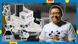 LEGO Ideas Steamboat Willie Designer Video