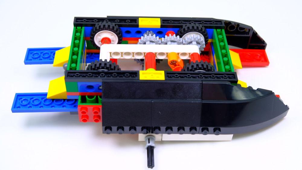 LEGO Ideas 21317 boeg en techniek
