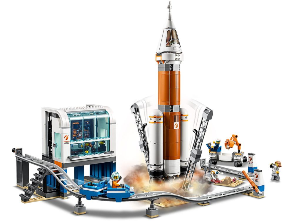 LEGO City 60228 Space Rocket and Flight Control