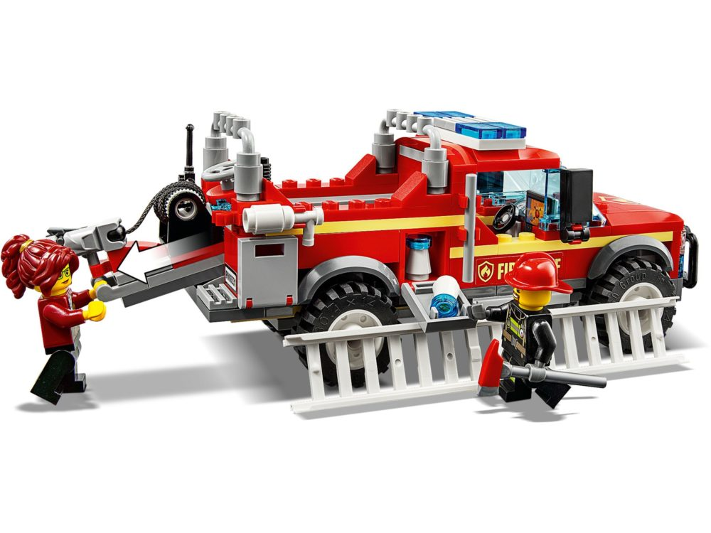 Fire Chief Respons Truck