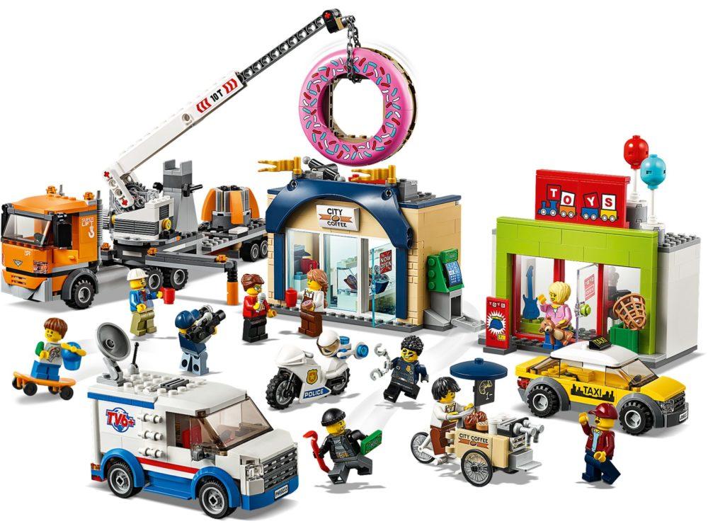 LEGO City 60233 Donut Shop Opening