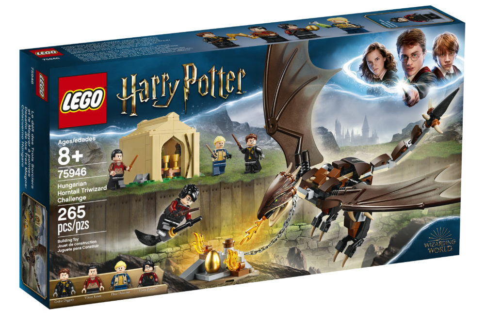 LEGO Harry Potter 75946Hungarian Horntail Triwizard Challenge (1)