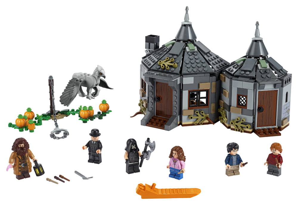 LEGO Harry Potter 75947Hagrid's Hut (2)