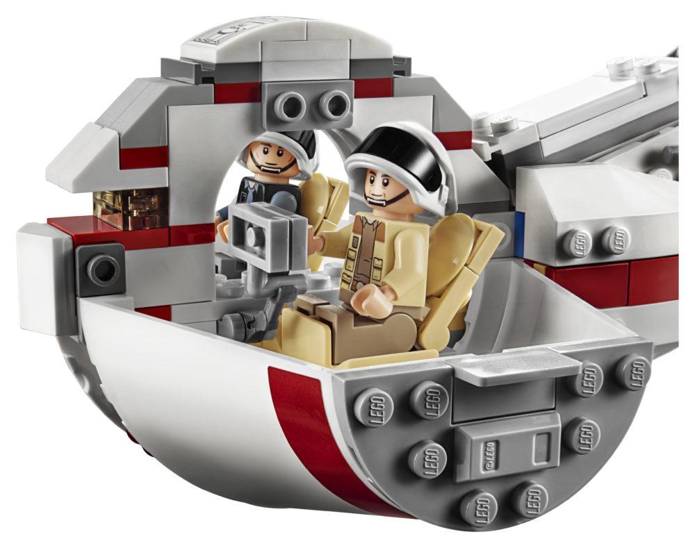 LEGO Star Wars 75244 - cockpit