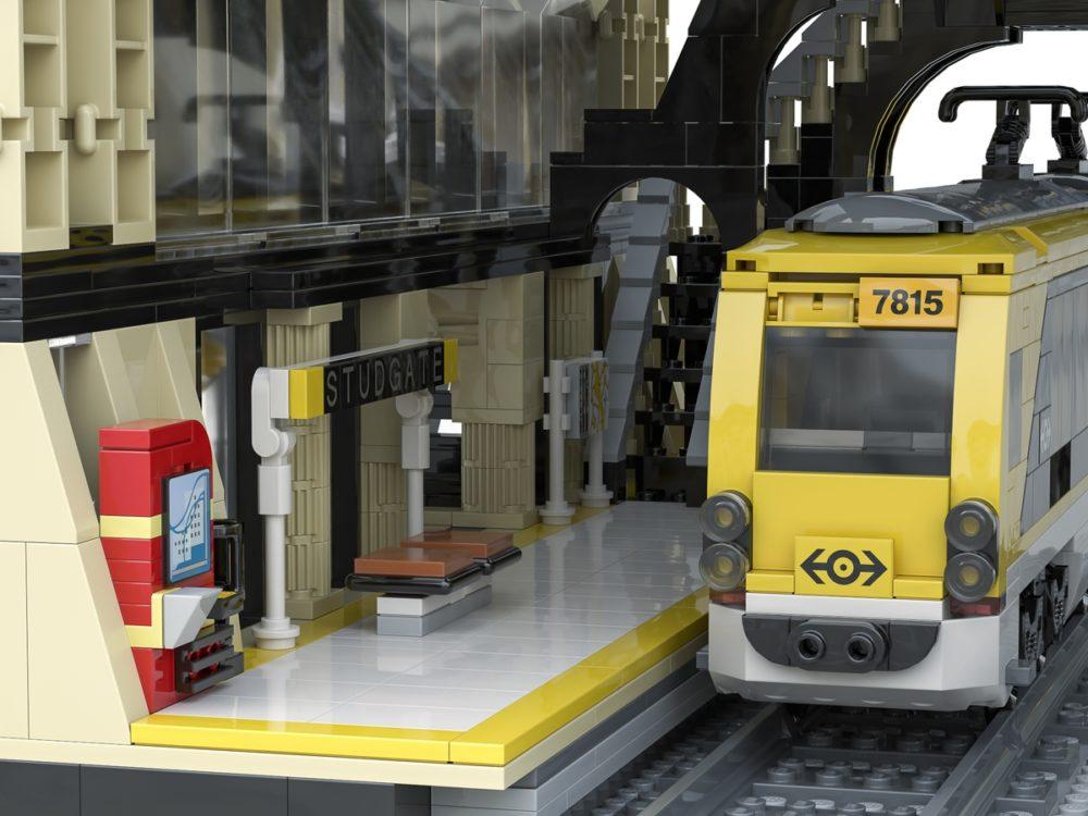 LEGO Ideas The Train Station: Studgate