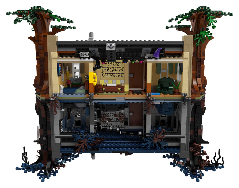 LEGO 75810 Byers House back