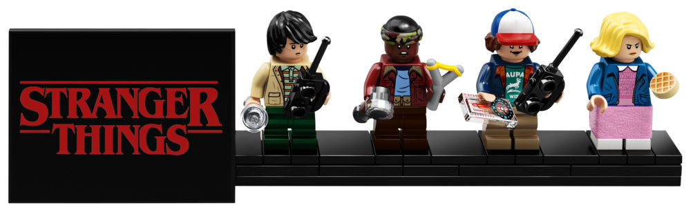 LEGO 75810 Minifigures Stand