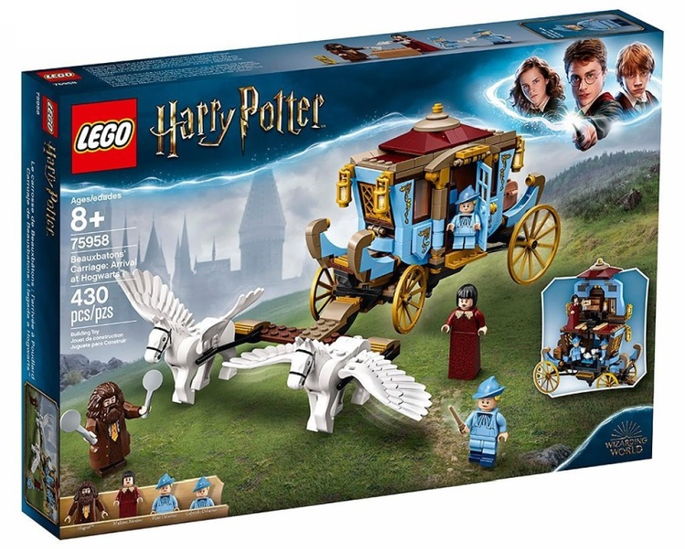 LEGO Harry Potter 75958 Beauxbatons Carriage Arrival at Hogwarts