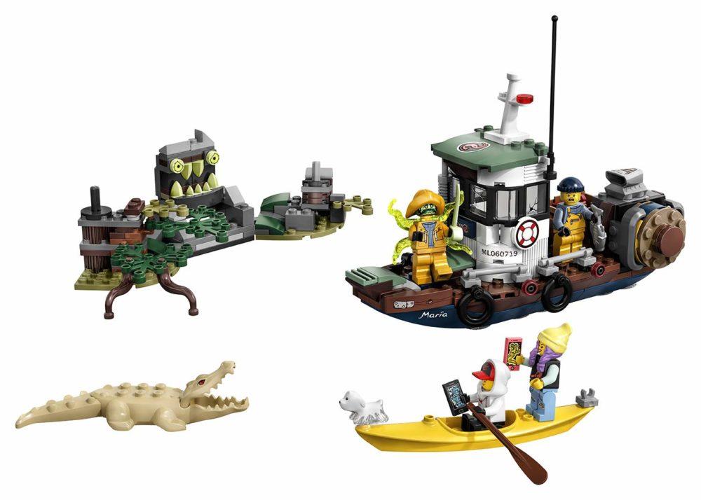LEGO Hidden Side 70419 Boat