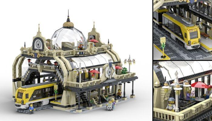LEGO Ideas The Train Station_ Studgate