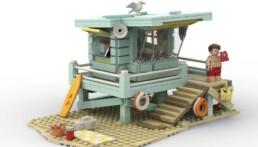 LEGO Ideas Lifeguard's Shack