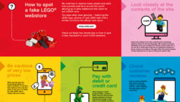 Fake online LEGO Shops [weet waar je koopt]