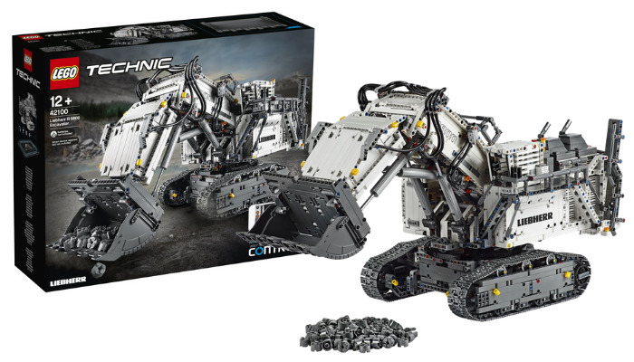 LEGO Technic 42100 Liebherr R9800 Excavator